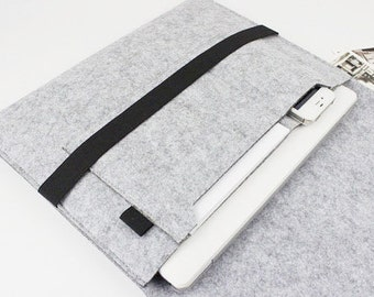 felt Macbook Air 13 sleeve, 13 inch Macbook sleeve, Macbook 13 case, macbook pro case, Macbook sleeve, laptop case, Laptop sleeve 020LG