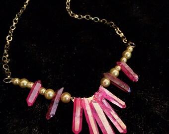 Sweetheart Quartz Necklace