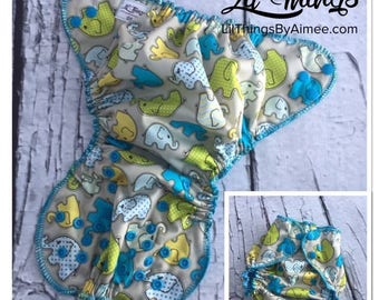 NEW Elephant Walk One Size Fits Most OS Swim Diaper Cover Boys Girls