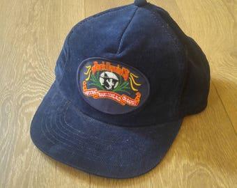 Jack Daniels Country Cabaret Vintage  Corduroy Snap Back Hat