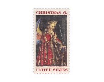 10 inutilisé des timbres-poste Vintage - 1968 6c Jan Van Eyck Gabriel - article n ° 1363