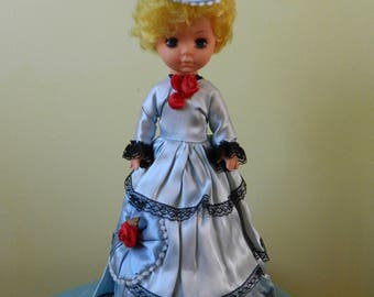 Vintage Musical Spinning Pose Doll