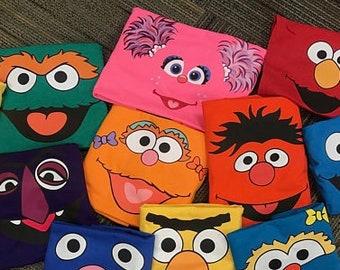 Sesame street face shirt