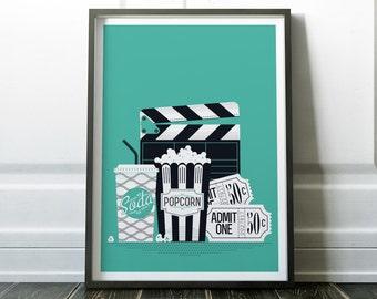Movie Print, Wall Art Print, Poster, Minimalist Print, Movie Poster, Digital Print, Wall Art, Minimalist Art, Prints, Minimalist Poster, Art