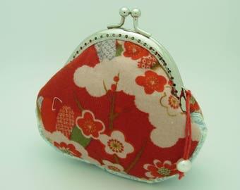 Coin purse, change purse, kisslock purse, money wallet