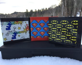 Duct Tape Wallets- Super Heroes