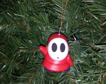 Nintendo Super Mario Bros. Christmas Ornament Shy Guy