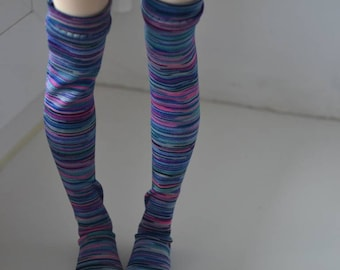 Colorful stockings for Minifee BJD