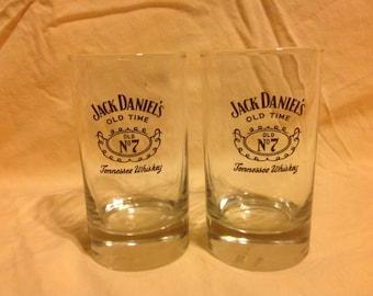 Pair of Jack Daniel's 12oz Glasses