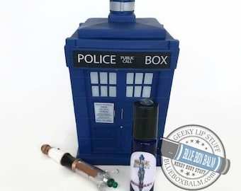 "Sonic Scent - BRILLIANT - ""13th"" Doctor Who Inspired Body Scent - A Flower Bomb type fragrance in a Blue Glass Roller Bottle"