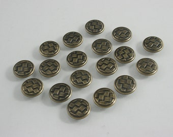 40 sets.Round Brass Celtic Buttons Rivets Studs Decorative Rivets 12 mm. CT BR12 K