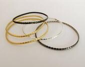 Gold Cuff Bracelet, 925 B...