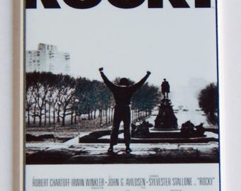 Rocky Movie Poster Fridge Magnet