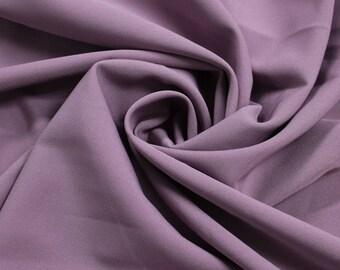 Mauve Dark 4-Way Twill Stretch Fabric by the Yard - Style 597