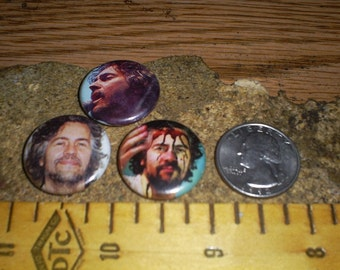 WAYNE COYNE The Flaming Lips 3 one inch pin back buttons badge set