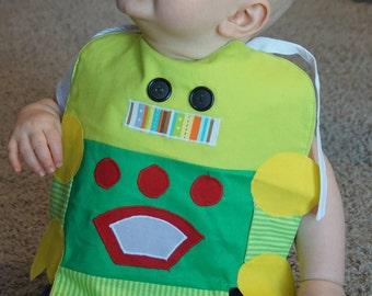 Robot Bib, Baby Bib