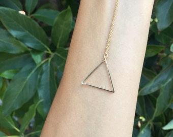 Elegant Triangle Necklace