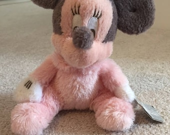 Minnie mouse baby plush rattles from Disney land Hong kong