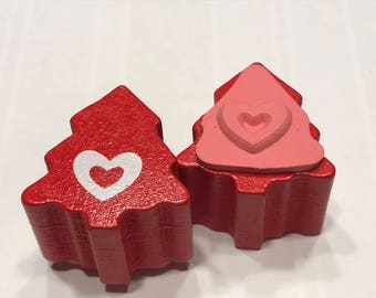 small tiny Heart stamp,12 mm (BB1/3)