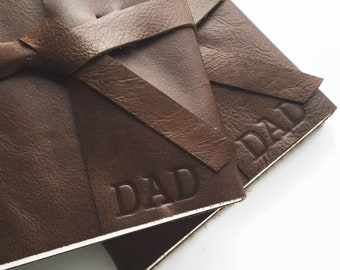 Personalized Fathers Day Gift, Leather Journal, Fathers Day Journal for Dad, Monogram Gift for Dad, Personalized Gift for Men, Lined Pages