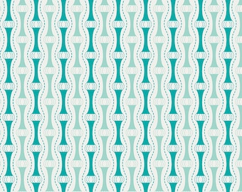 One Yard Drift - Way to Zen in Teal - Cotton Quilt Fabric - from Angela Walters for Art Gallery Fabrics (W1694)