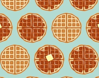 L'eggo my Waffles - PRE-ORDER - CUSTOM Reversible Bandana - Dog Bandana - Cat Bandana - Handmade Pet Bandana