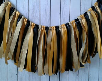 Mommy to bee baby shower, ribbon garland backdrop, bee baby shower, yellow and black wedding, ribbon backdrop, ribbon banner, party decor.