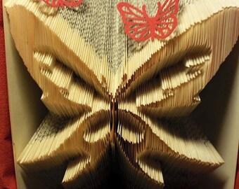 """Bookfolding pattern """"Butterfly"""""""