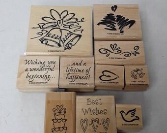 WEDDING BELLS stamping blocks