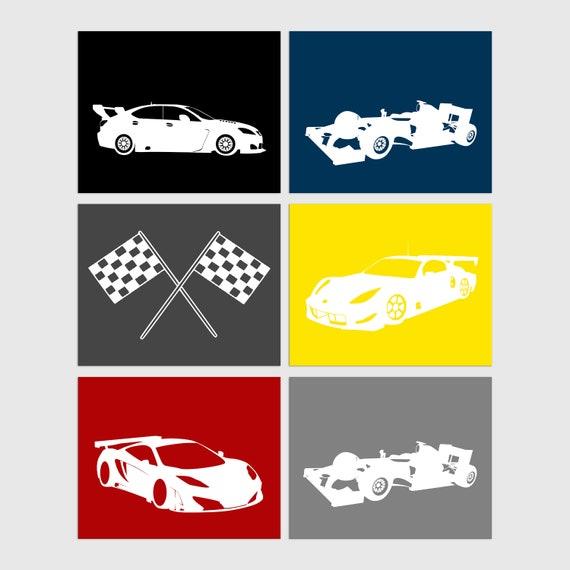 Beautiful Wall Art Cars Inspiration - Wall Art Design ...