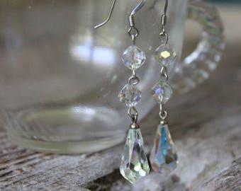 Vintage Chandelier Earrings, Handmade Chandelier Earrings, Chandelier Earrings, Free Shipping
