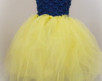 Crochet Pattern: Fairy Princess Dress