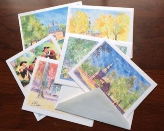 Williamsburg Note Cards with Envelopes