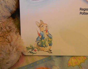 Baby Shower Invitations- Peter Rabbit eating his carrots - so cute