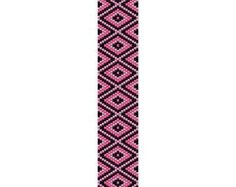 Fancy Diamond Bracelet Peyote Pattern