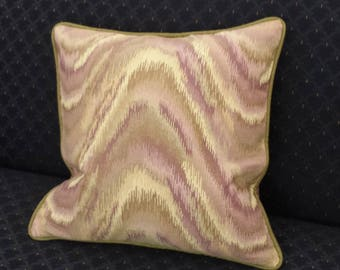 Woven Wavy Stripe Pattern Accent Pillow Cover