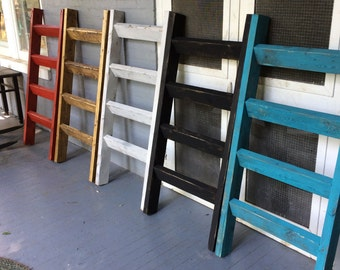 """4 ft x 23 """"Bella Collection """" Blanket Ladder -Handcrafted in the USA...."""