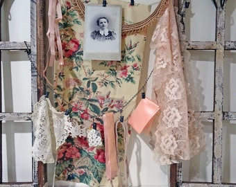 inspiration kit No047 - peachy beaded collar
