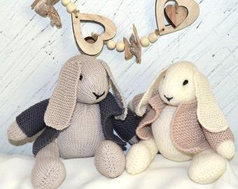 KNITTING PATTERN-Bunny Rabbit - P089