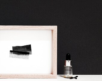 miniature painting,scandinavian modern,minimalist wall art,printable art,black minimalist,abstract wall art,mini abstract art,tiny prints