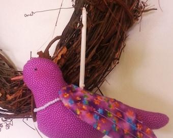Hanging Bird Sachet, Lavender Sachet, Songbird Sachet,Sachet,Hanging Sachet,Sachet Hanger,Fabric Bird Sachet,Lavender,Bird Sachet,Songbird
