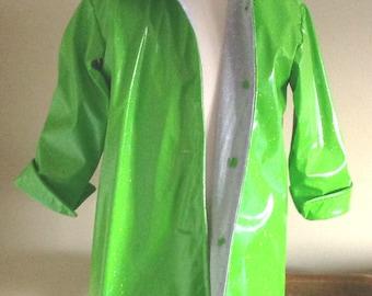 Childs Raincoat Waterproof Summer Girls Size 2-3