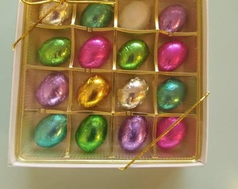 No Sugar Added Mint Meltaway Easter Eggs Gift Box