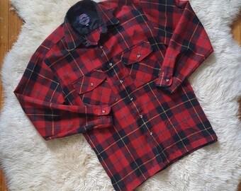 sz. L | Vintage Flannel Button Up Shirt