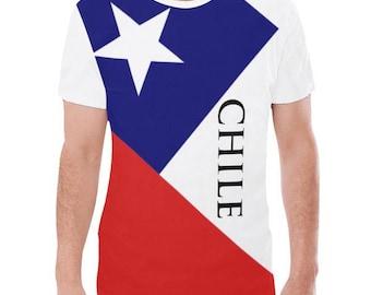 Chile Men's Flag Tee