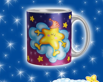 Cup Starry Night-Red Starlet