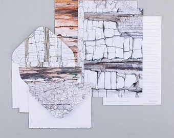 Marble Letter Writing Set Writing Paper Envelope Set