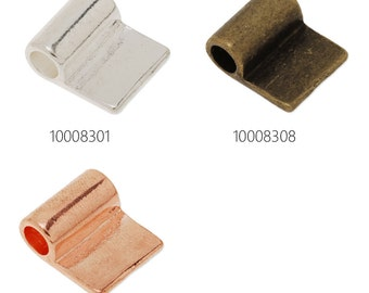 50PCS 17*14mm High Quality Glue On Bails Charms/Pendants 100083