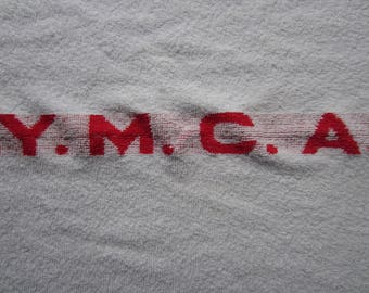 Vintage YMCA Towel circa the 50's