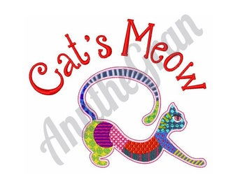Cat - Machine Embroidery Design